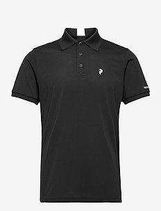 M Tech Solid Polo - paidat - black