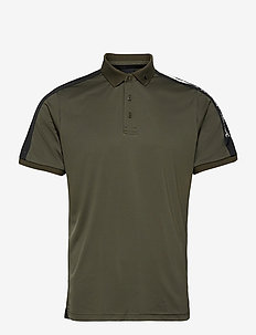 M Player Polo - paidat - black olive   black