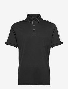 M Player Polo - kortærmede - black   white