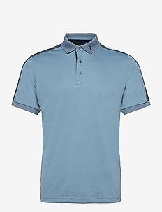 M Player Polo - yläosat - dark haze   blue shadow