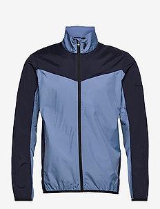 M Meadow Wind Jacket - golf jackets - dark haze   blue shadow