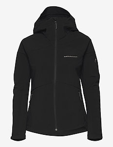 W Adventure Hood Jacket - ulkoilu- & sadetakit - black