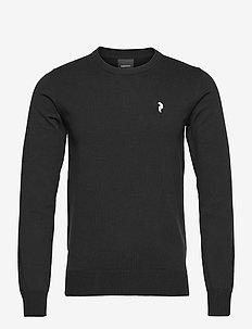 M Classic Crewneck - tricots basiques - black