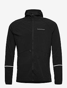 M Alum Light Jacket - ulkoilu- & sadetakit - black