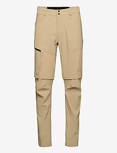 M Iconiq Zip Off Pant - ulkohousut - true beige