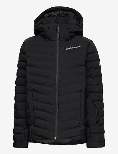 Jr Frost Ski Jacket Orange Altitude - toppatakit - black