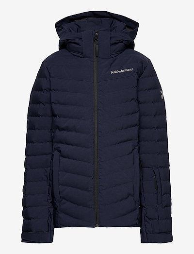Jr Frost Ski Jacket Cold Blush - veste rembourrée - blue shadow