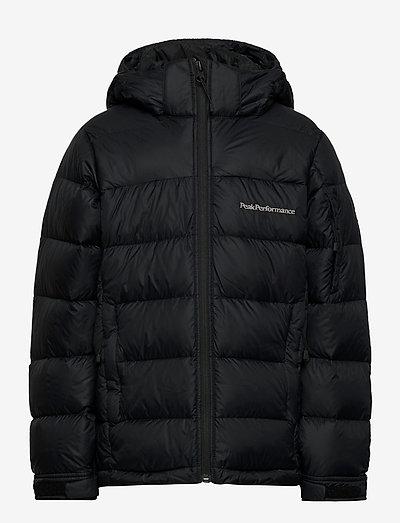 Jr Frost Down Jacket Black - vestes thermo-isolantes - black