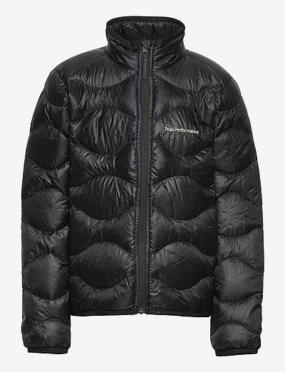 Junior Helium Jacket Black - toppatakit - black