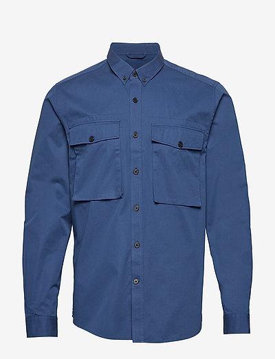 DEAN MILIS - chemises basiques - decent blue