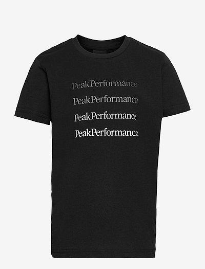 Jr Ground Tee - t-shirts à manches courtes - black
