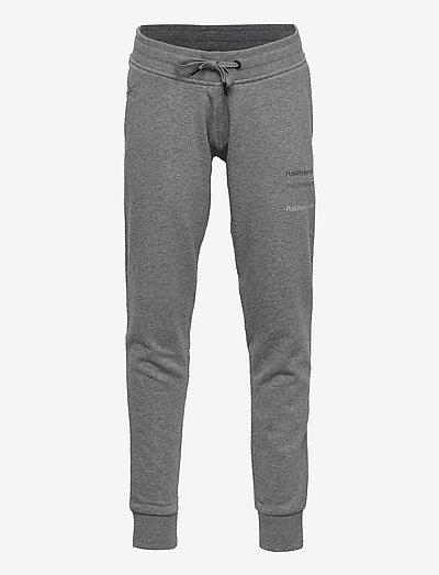 Jr Ground Pant - bas de sport - grey melange