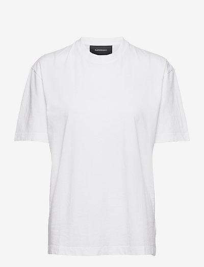 W Long Tee - t-paidat - white