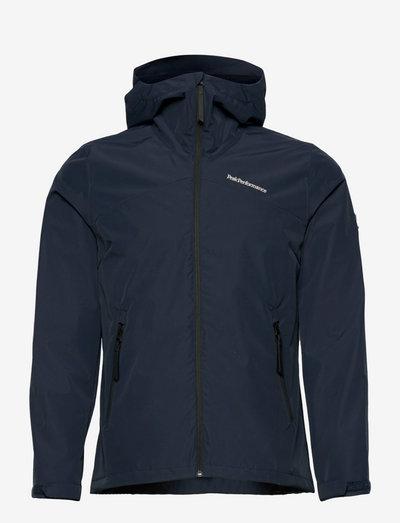W Coastal Jacket - vestes d'extérieur et de pluie - blue shadow