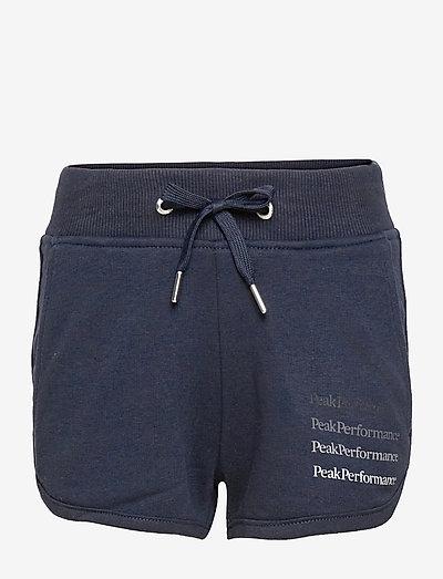 Jr Ground Shorts G - urheilushortsit - blue shadow