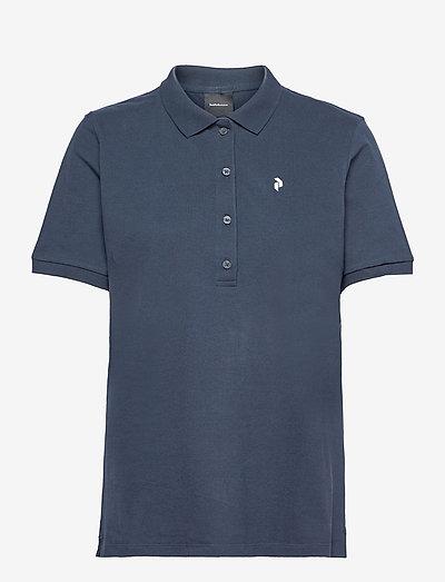 W Classic Polo - polos - blue shadow