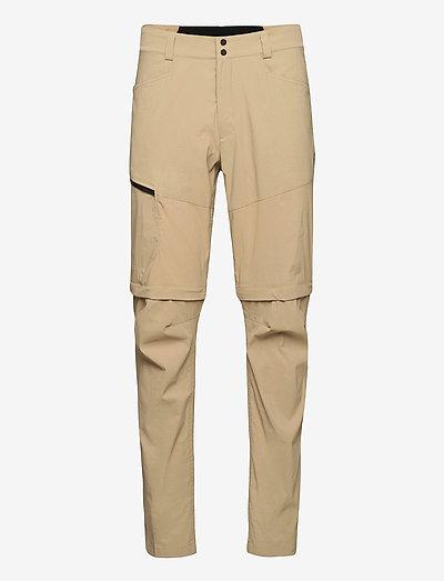 M Iconiq Zip Off Pant - pantalon de randonnée - true beige