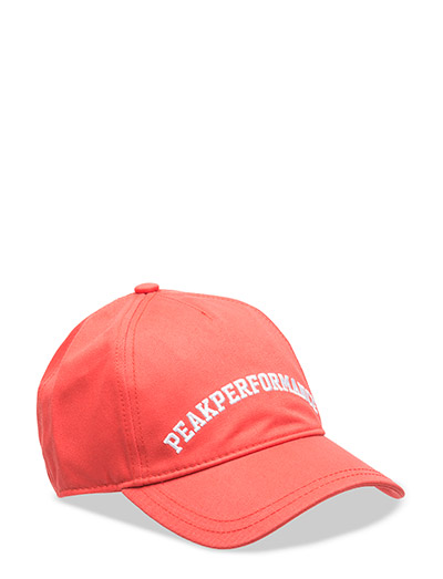 LOGO CAP - RACING RED