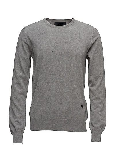 JAMES CREW - MED GREY MEL