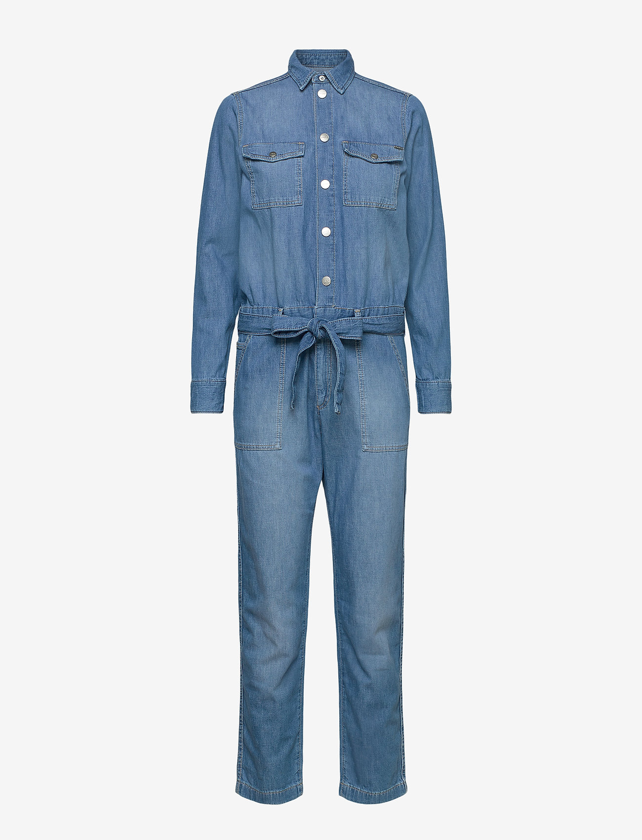 Pepe Jeans London - CHLEO BLUE - jumpsuits - denim - 0
