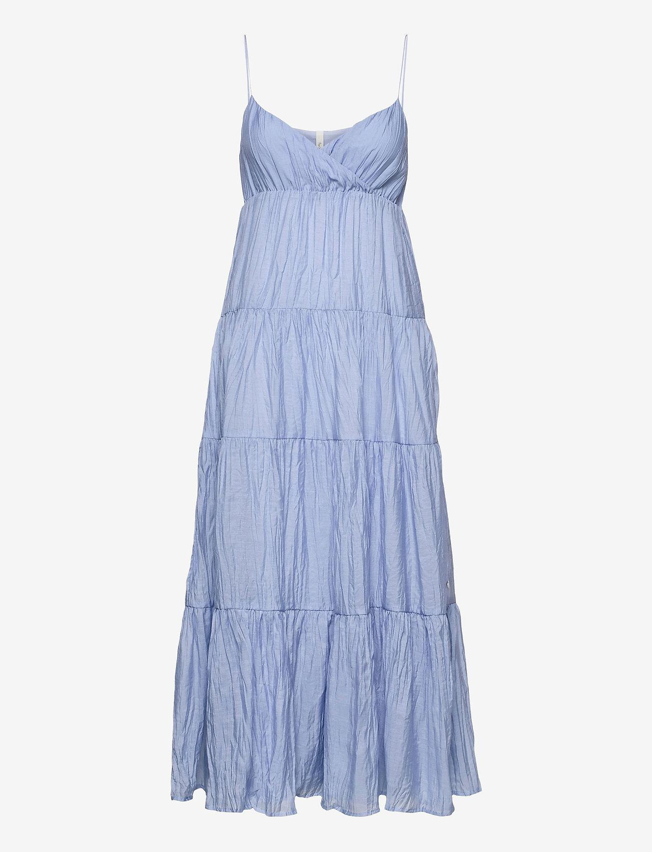 Pepe Jeans London - ANAE - maxi dresses - blue - 0