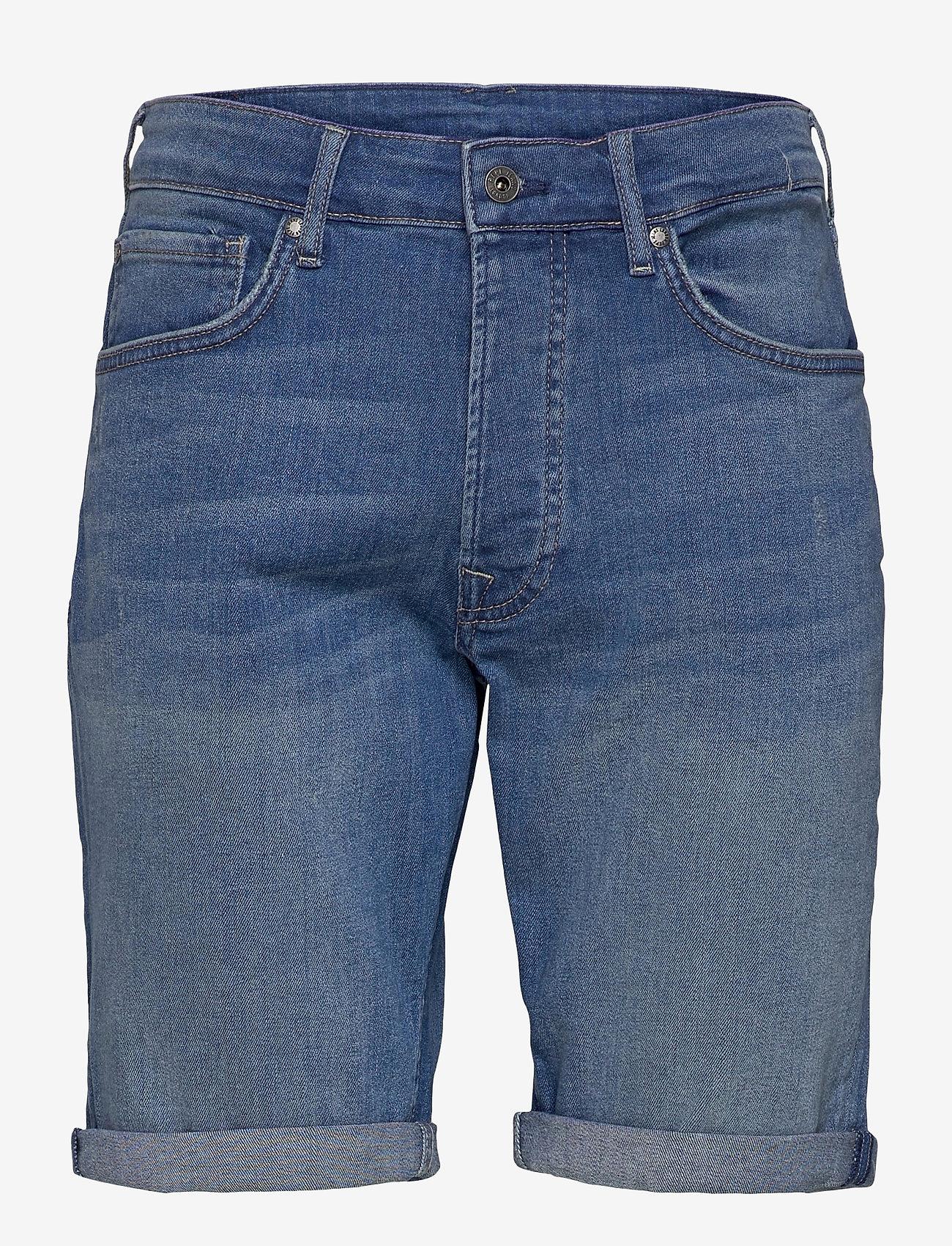 Pepe Jeans London - CALLEN SHORT - denim shorts - denim - 0