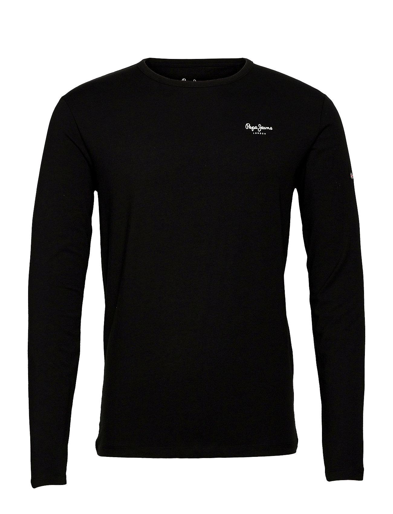 Original Basic 2 Long T-Langærmet Skjorte Sort Pepe Jeans London