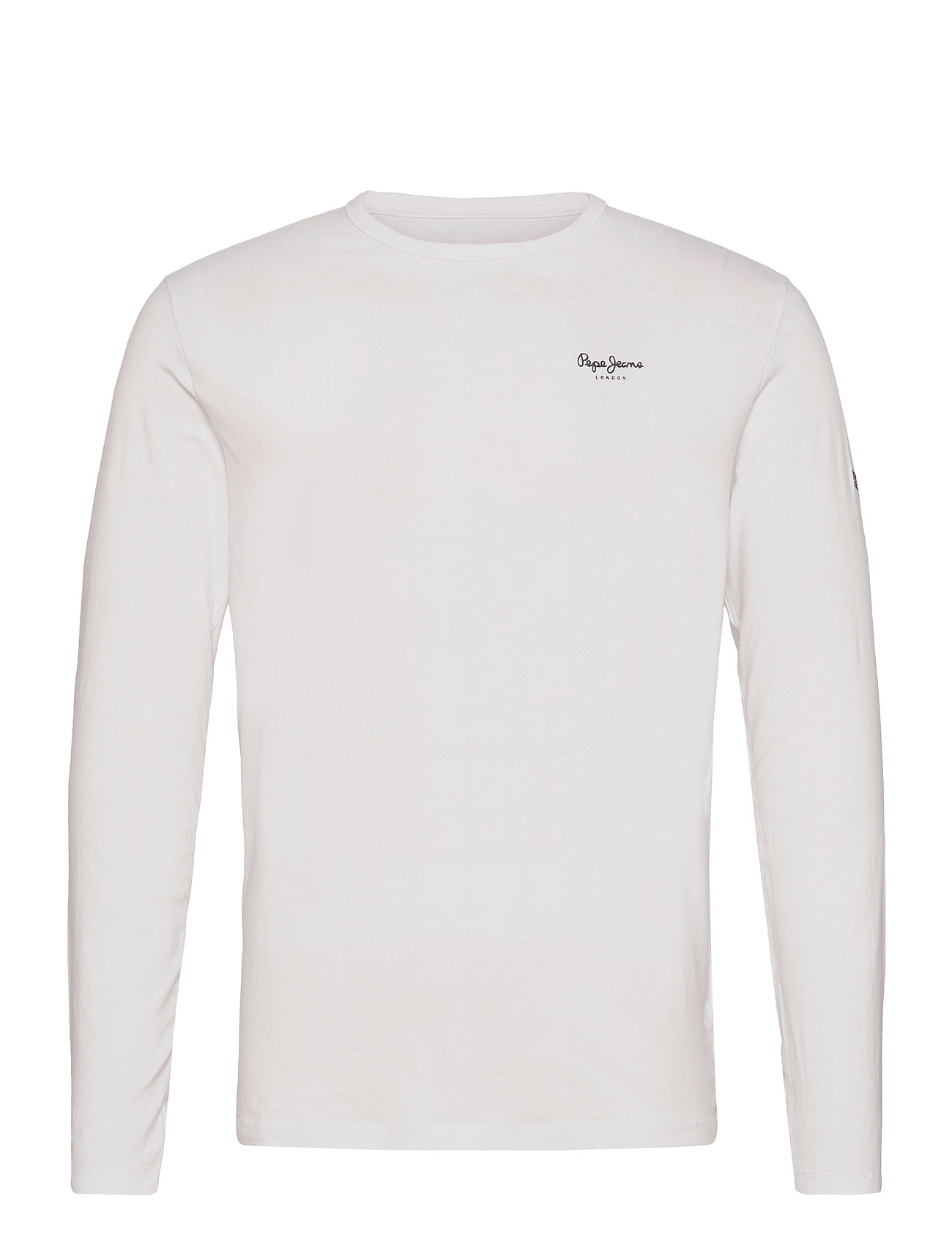 Original Basic 2 Long T-Langærmet Skjorte Hvid Pepe Jeans London