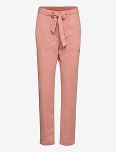 DRIFTER - bukser med lige ben - washed pink