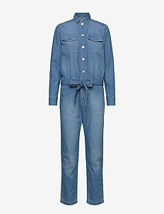 CHLEO BLUE - jumpsuits - denim