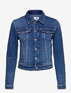 CORE JACKET - jeansjacken - denim