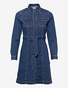 JULIE BLUE - robes chemises - denim