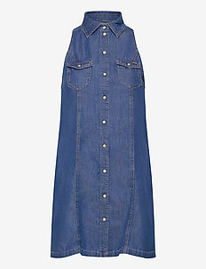 JESS - shirt dresses - denim