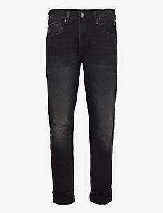 CALLEN CROP - relaxed jeans - denim