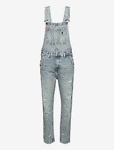 DOUGIE TAPER - relaxed jeans - denim