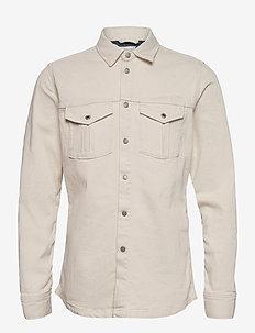 DAVE - basic skjortor - denim