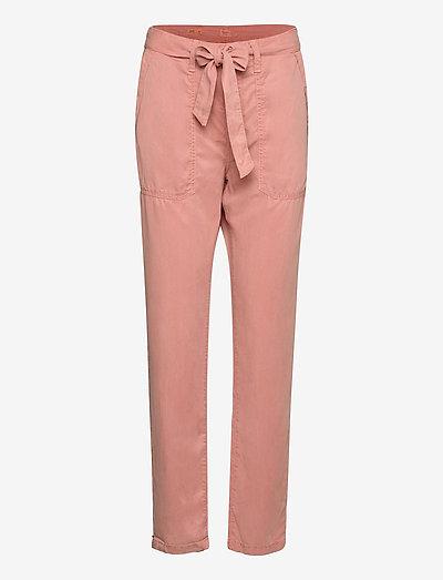 DRIFTER - broeken med straight ben - washed pink