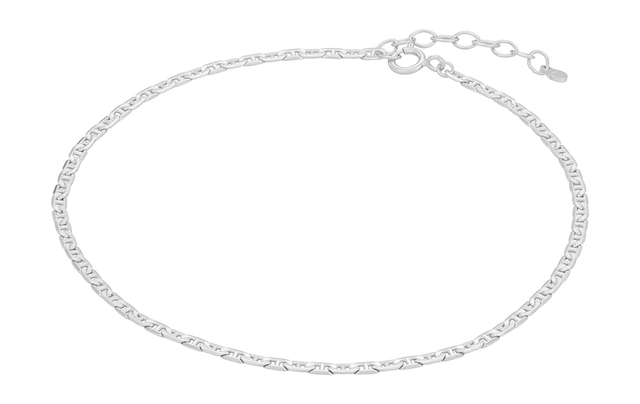 Pernille Corydon Therese Anklet Adj. 23-26- cm - SILVER