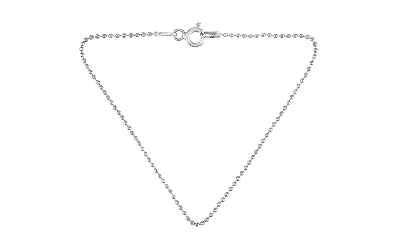Pernille Corydon Facet Plain Bracelet 18 cm - SILVER