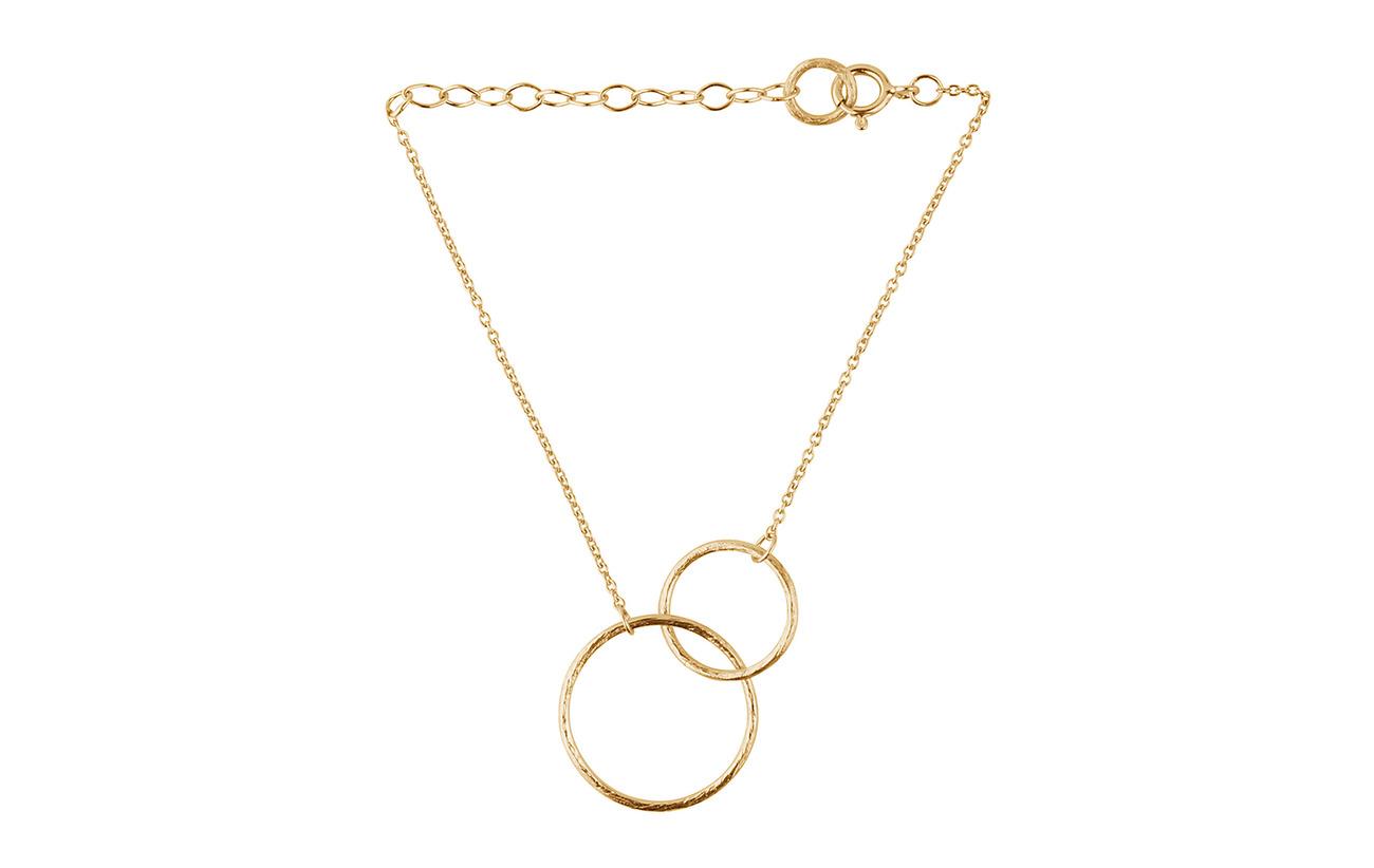 Pernille Corydon Double Plain Bracelet - GOLD PLATED