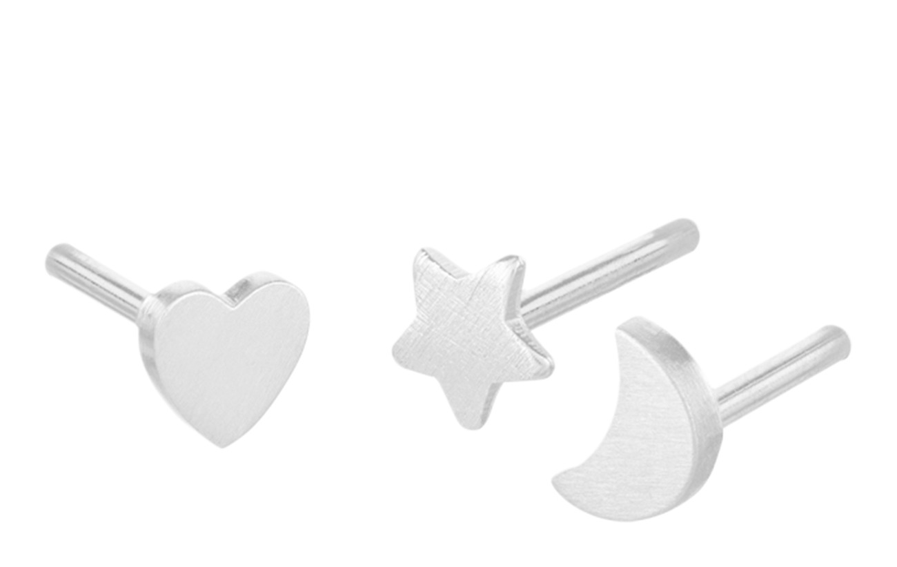 Pernille Corydon Moment Earrings Box - 4mm - SILVER