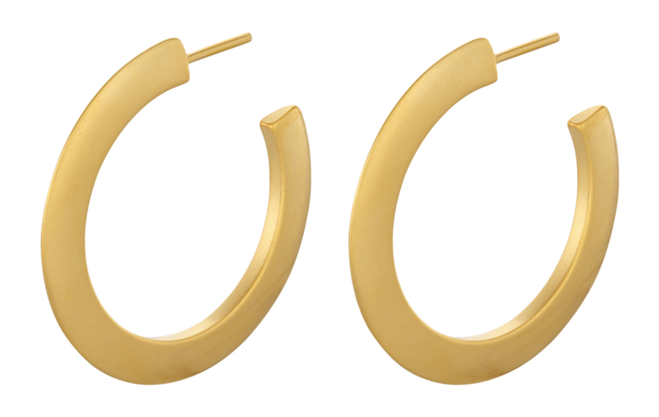 Pernille Corydon Small New York Hoops size 30 mm - GOLD PLATED