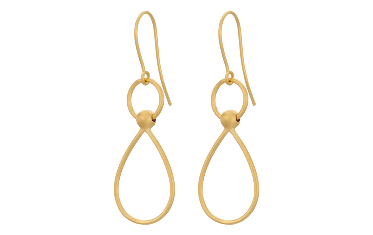 Pernille Corydon Gala Earhooks - GOLD PLATED