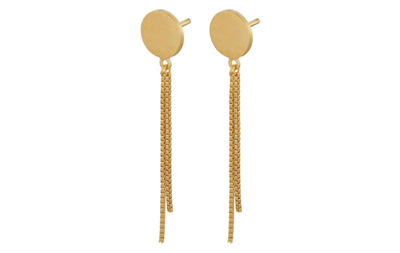 Pernille Corydon London Earsticks 8 mm Chain 30 mm - GOLD PLATED