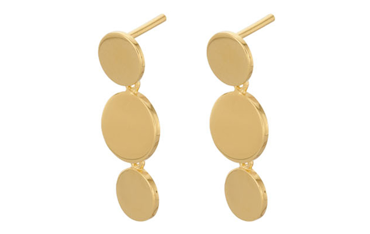 Pernille Corydon Triple Sheen Earsticks - GOLD PLATED