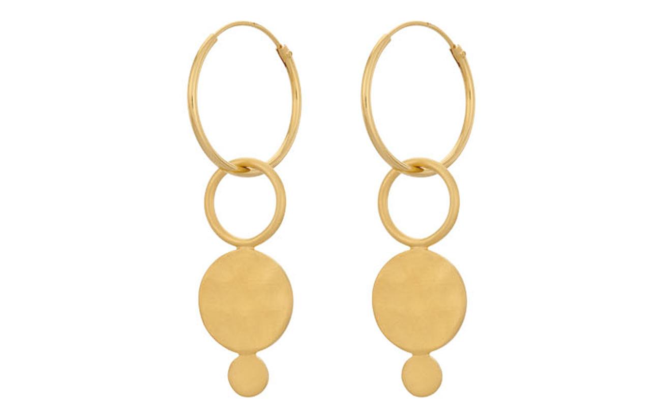 Pernille Corydon Saga Hoops - GOLD PLATED