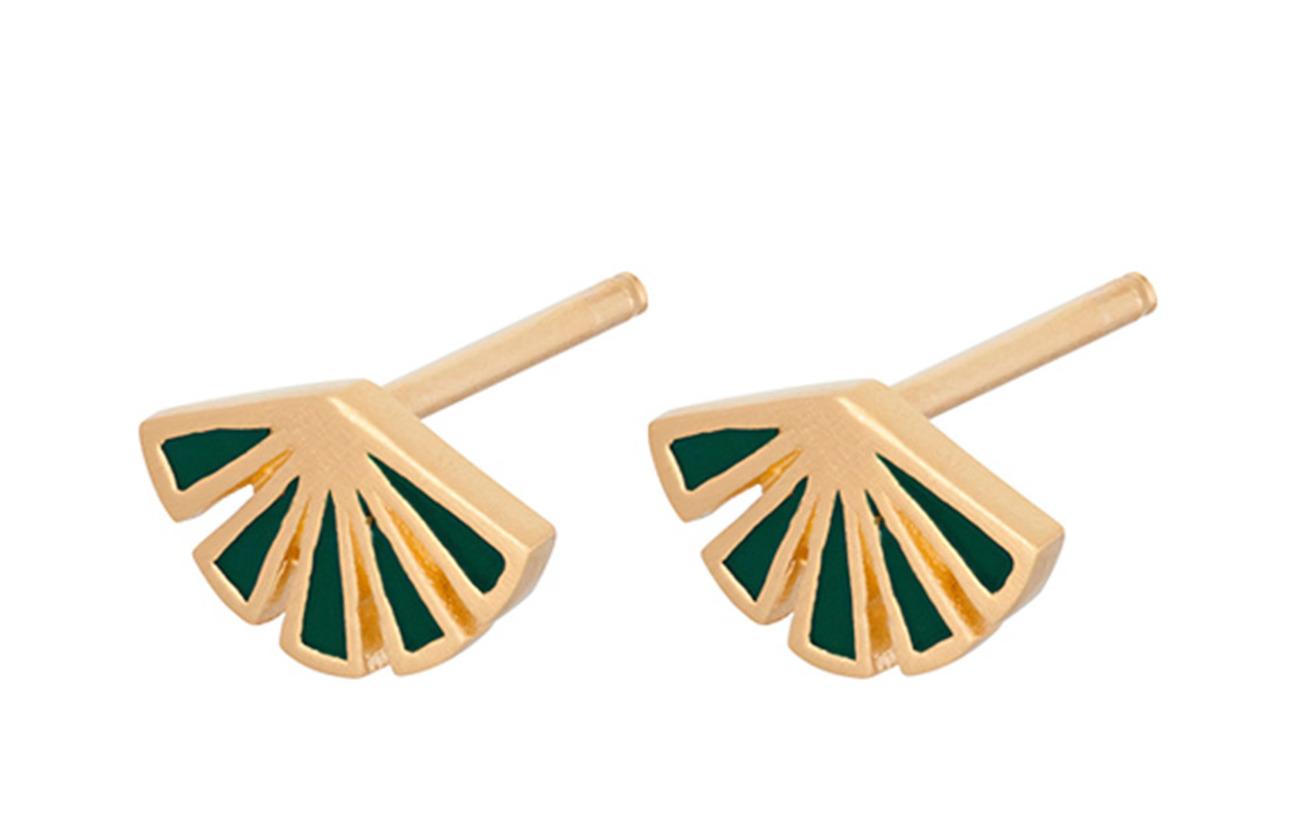 Flare Green 8 PlatedPernille Mmgold Size Corydon Earsticks YID9EWH2