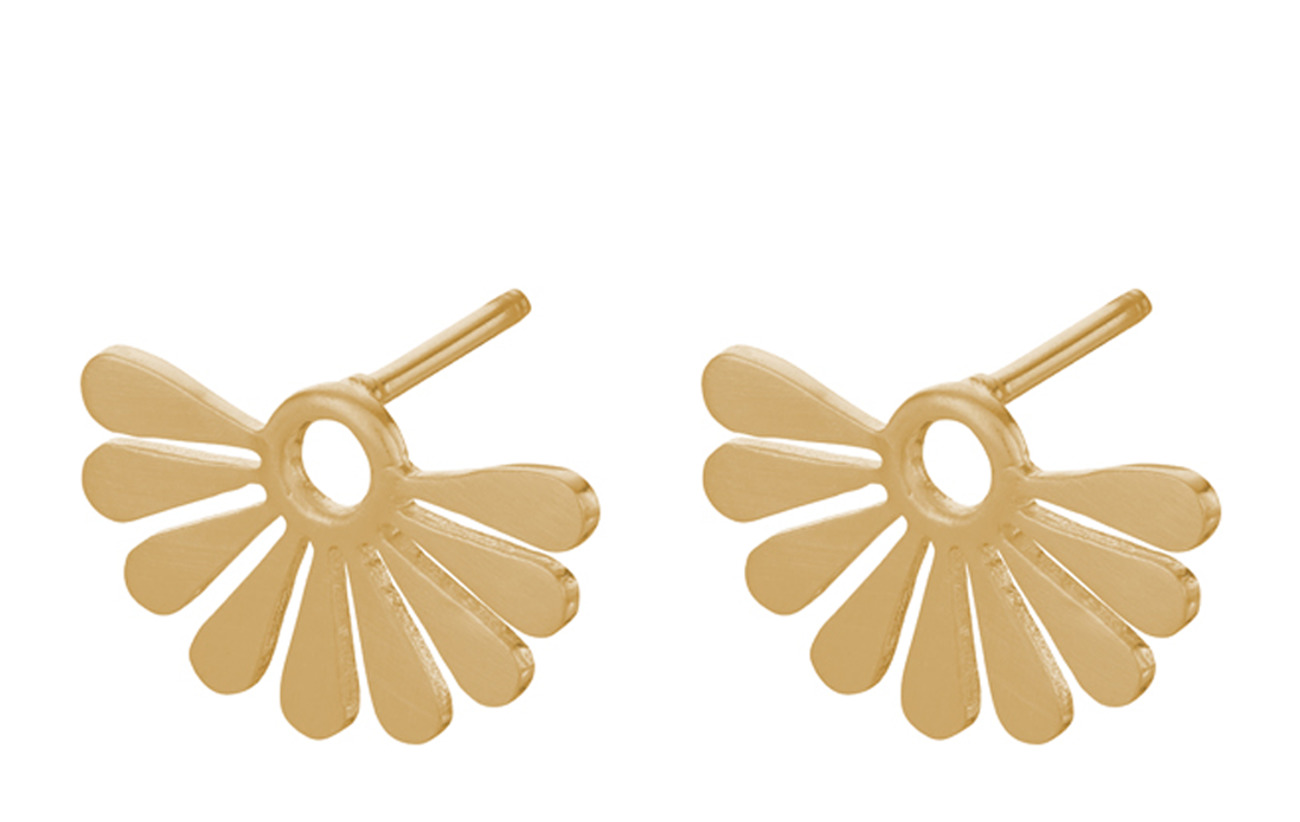 Pernille Corydon Droplets Earsticks  Size 14 mm - GOLD PLATED