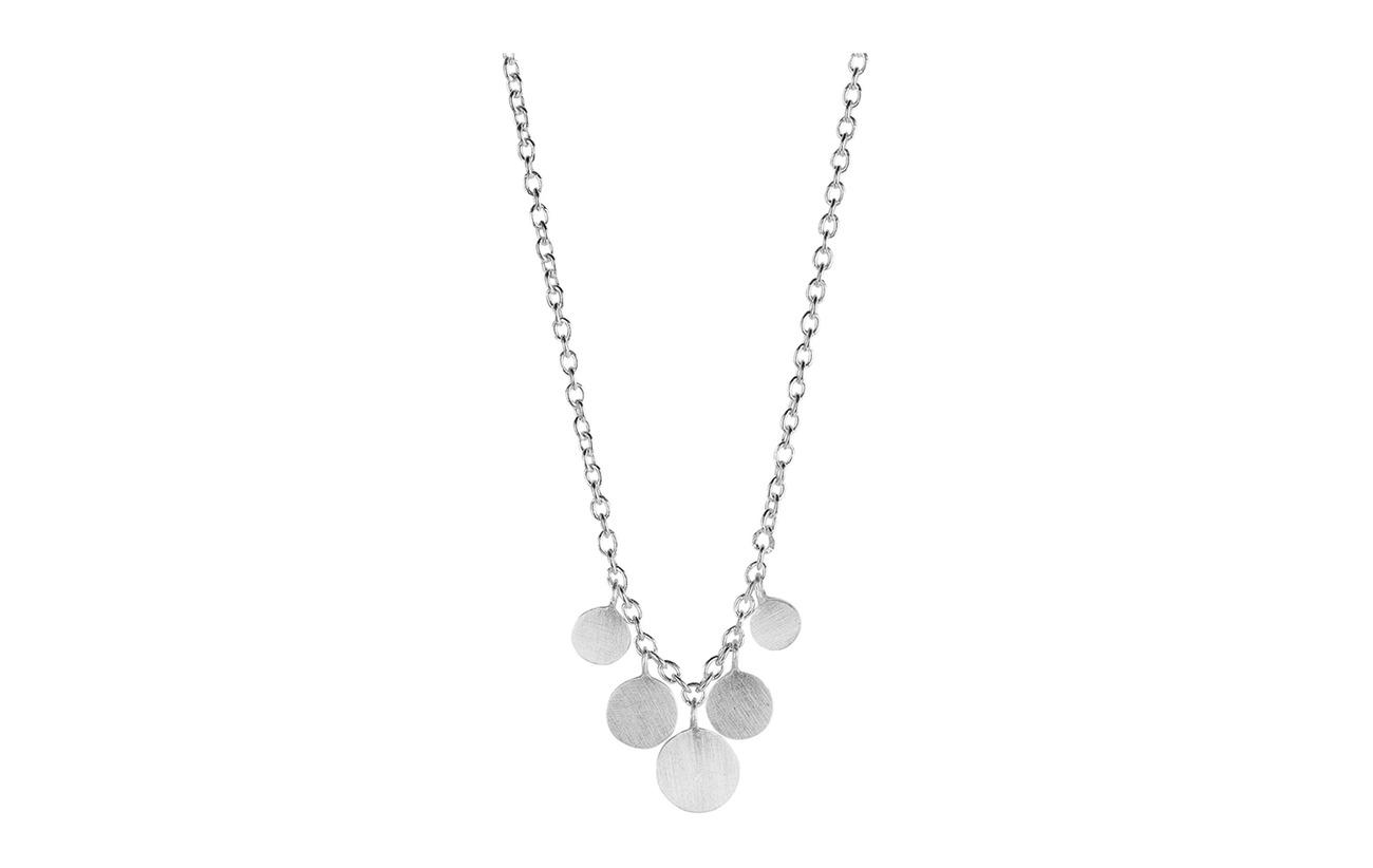 Pernille Corydon Mini Coin Necklace Lenght 40-48 cm - SILVER