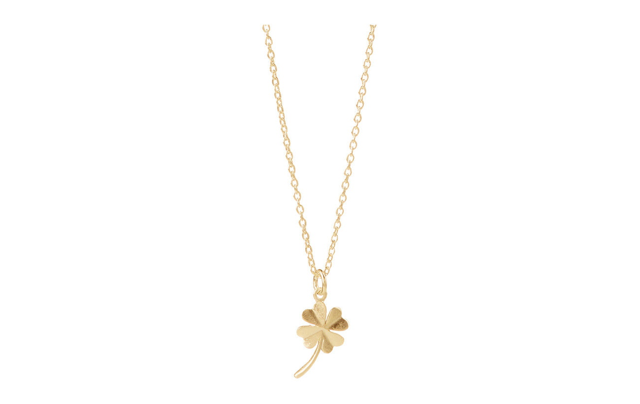 Pernille Corydon Clover Necklace 40-48 cm Adjustable - GOLD PLATED